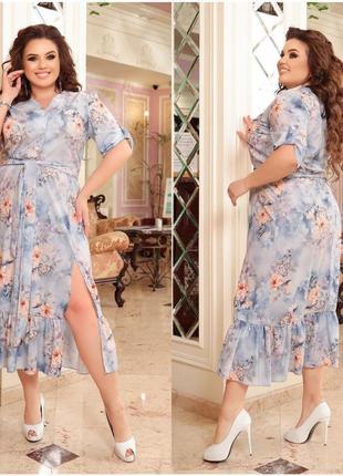 Нежное и женственное платье в романтическом стиле plus size
