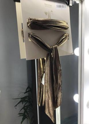 Пов'язка / шарф / платок / бант / 3в1 / на голову accessories bershka