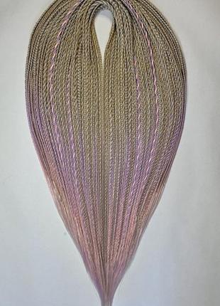 Шикарный комплект афрокосичка и жгуты переход цвета  из высококачественного канекалона.