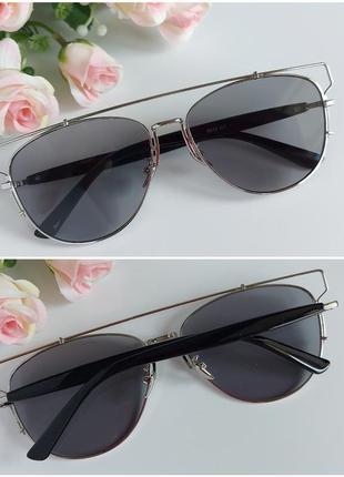 Солнцезащитные очки в серебре