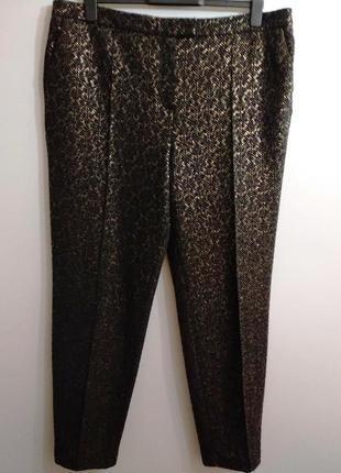 Шикарные нарядные брюки сигареты 18/52-54 размера