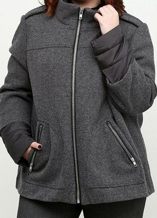 Куртка s.oliver,раз uk20, us16, 50% шерсть 50 полиэстер