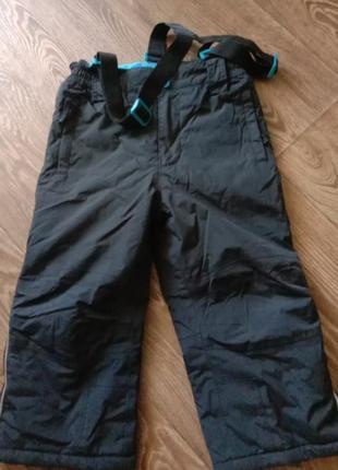 Зимние термо штаны полукомбинезон