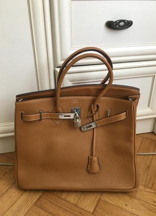 Кожанная сумка hermès