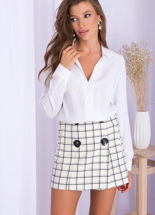 Базовая классическая белая рубашка блуза базова класична сорочка блуза