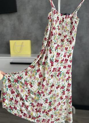 Платье новое сарафан цветы