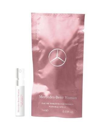 Mercedes-benz woman оригинальный пробник со спреем