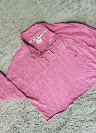 Кроп кофта pink victoria's secret