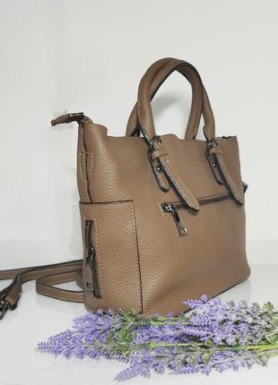 Зручна жіноча сумка5 фото