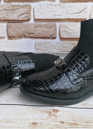 Стильные демисезонные ботинки для девчонок