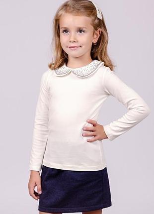 Блуза, кремовая