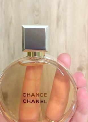 Chanel chance parfum оригинал 3 мл затест распив отливанты9 фото