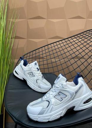 Женские кроссовки new balance 530 white/ grey
