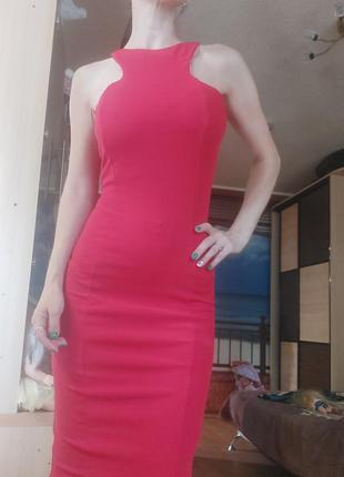 Шикарное платье миди с-ка