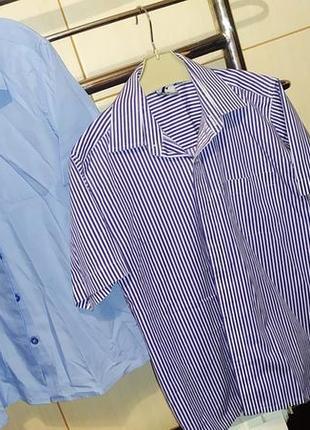 2 рубашки одним лотом на 11-12 лет в школу