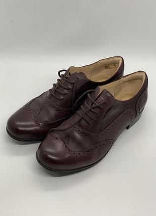Туфли на шнуровке оксфорд 37-38р
