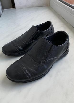 Туфли ортопедические кожа