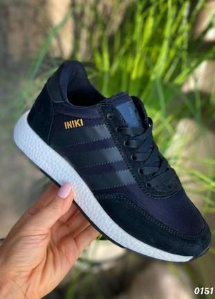Adidas кроссовки чёрные женские
