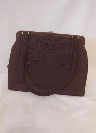 Шикарная винтажная сумочка corde