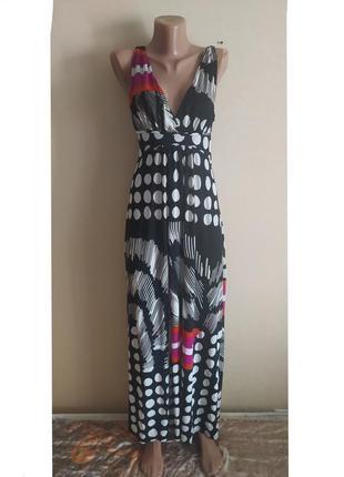 Сарафан платье длинный в пол черный белый разноцветный красивый