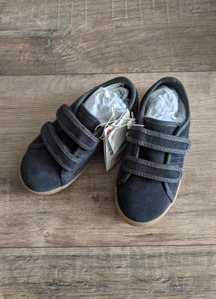 Кеди кеды кроссовки кросівки на липучках замшевые кожа 17 17,5 кожаные замшеві стильні модные