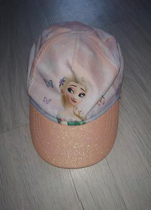 Красивая детская бейсболка, кепка, шляпа, на девочку 1-4 года