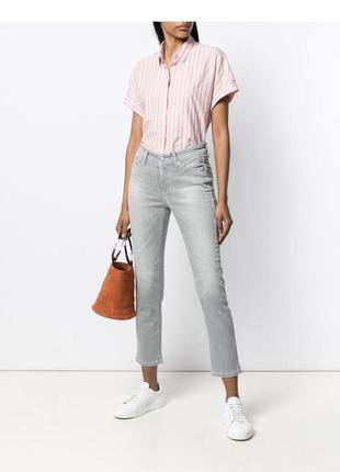 Стильные укорочённые брендовые джинсы cambio
