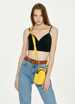Женская сумка sambag modena. маленькая сумочка через плечо