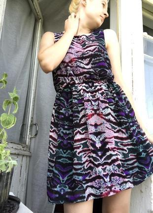 Плаття vero moda нове кольорове двухслойне