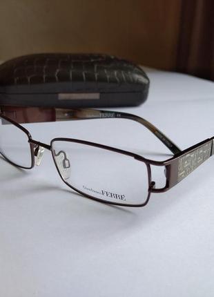 Фирменная оправа под линзы,очки оригинал gf.ferre gf388-04