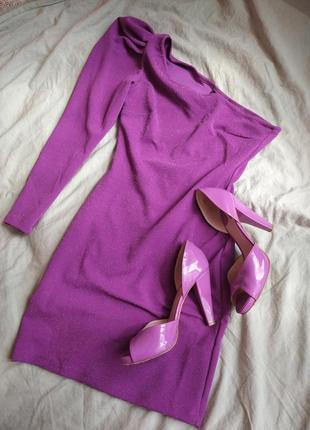 Блистательное фиолетовое платье