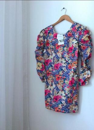 Новое красивейшее платье zara