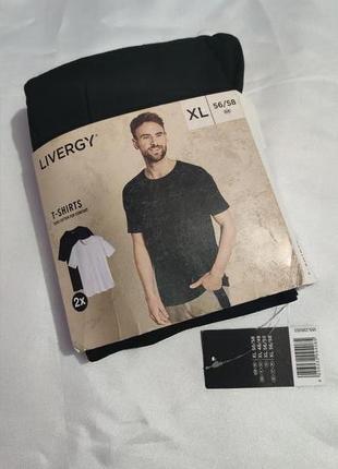 Базовые мужские футболки livergy, размер xl, xxl