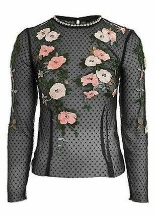 Шикарная кофта, блуза   сетка s