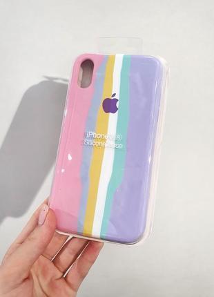 Новинка! чехол  silicone case full для айфон iphone xr