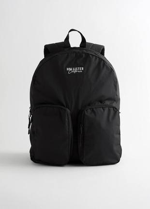 Рюкзак hollister с двумя карманами!