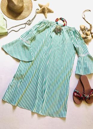 Красивое летнее платье в полоску, бренда mrs& hugs. германия