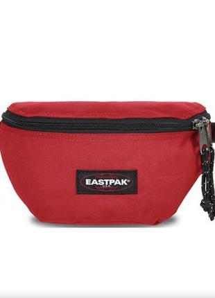 Поясная сумка бананка eastpak bum bag red мессенджер (carhartt)