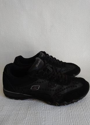 Skechers оригинальные кожаные кроссовки 38
