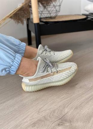 Adidas yeezy boost 350 lundmark (полный рефлектив)