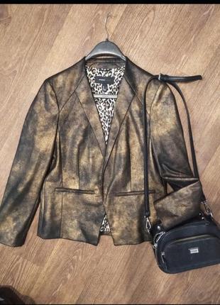 ❤️золотая колекция брендовый пиджак жакет mango l