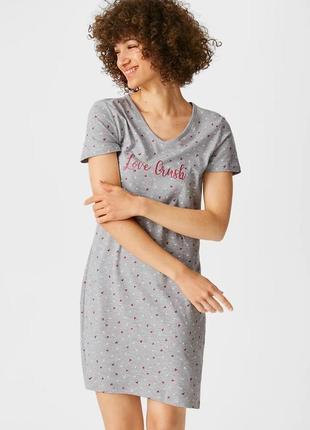 Ночнушка c&a. кунда. платье для дома. одежда для дома