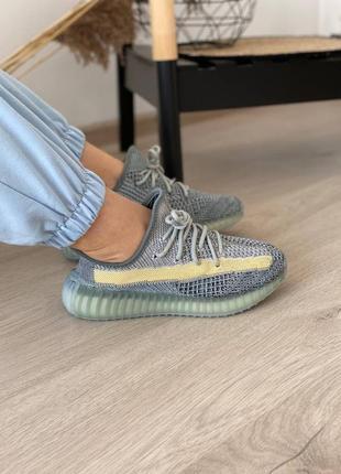 Adidas yeezy boost 350 ash blue кроссовки адидас изи буст наложенный платёж купить