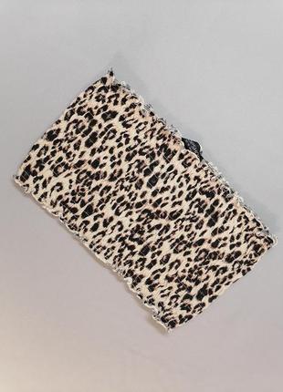🐱 топ без бритель леопардавой расцветкой