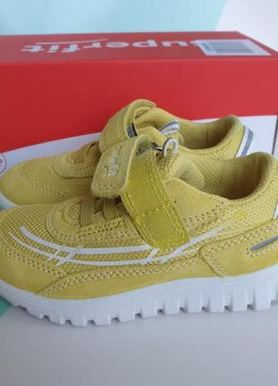 Яркие кроссовки superfit sport7 mini 25 размер, 16.5 см