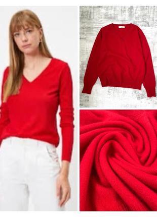 Укороченный кашемировый свитер джемпер 100% кашемир