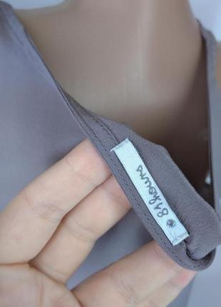 🛍️super sale🛍️  100% шелковая блуза необычного цвета размер м2 фото