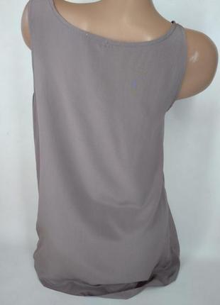 🛍️super sale🛍️  100% шелковая блуза необычного цвета размер м4 фото