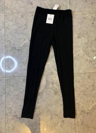 Распродажа все по 200 грн 🔥🔥🔥 черные трикотажные легенсы для беременных