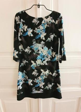 Новое трикотажное короткое платье мини atmosphere